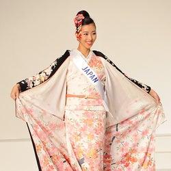 「2015ミス・インターナショナル」日本代表、受賞に輝く