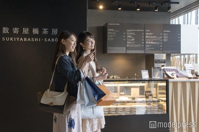 KIRIKO LOUNGE併設のカフェ「数寄屋橋茶房」(C)モデルプレス