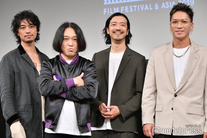 斎藤工、永野、金子ノブアキ、SWAY (C)モデルプレス