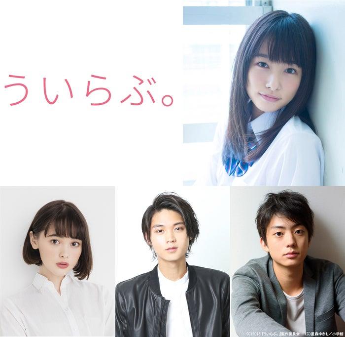 (右上から時計回りに)桜井日奈子、健太郎、磯村勇斗、玉城ティナ(C)2018 『ういらぶ。』製作委員会