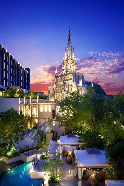大聖堂イメージ/画像提供:ストリングスホテル 名古屋 PR事務局