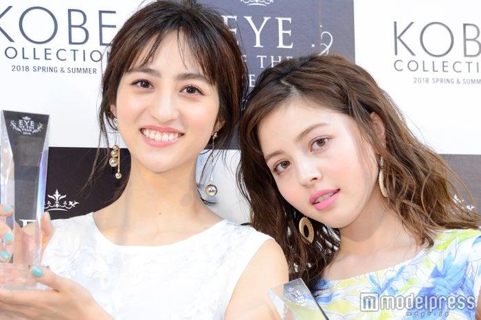 「EYE OF THE YEAR」を受賞した堀田茜、加藤ナナ (C)モデルプレス
