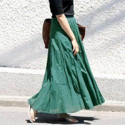何色が気分?春は華やぎ《カラースカート》で視線を集めちゃおう♡