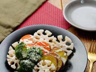 フライパンで作る「温野菜サラダ」