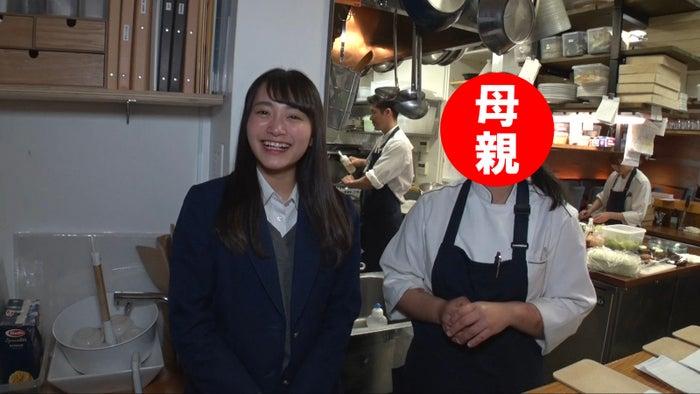 福田愛依と母親 (画像提供:MBS)