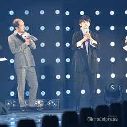 トレンディエンジェル(たかし、斎藤司)、吉沢亮、田中みな実(C)モデルプレス