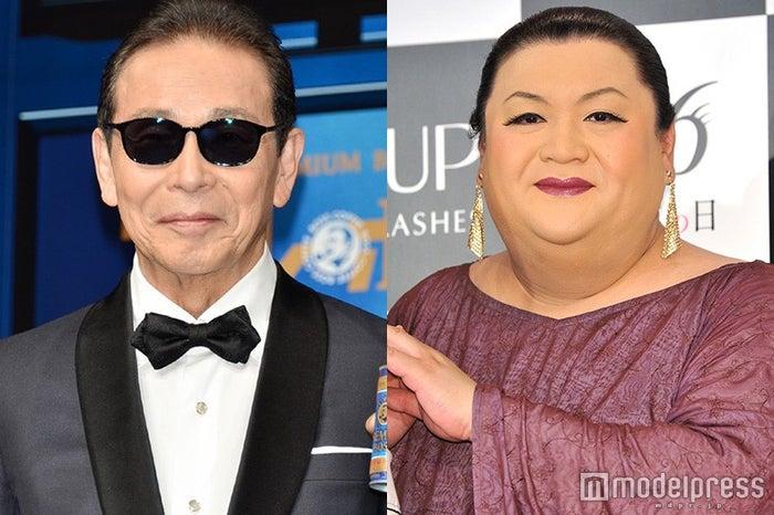 「第67回NHK紅白歌合戦」にスペシャルゲストとして出演するタモリ、マツコ・デラックス(C)モデルプレス