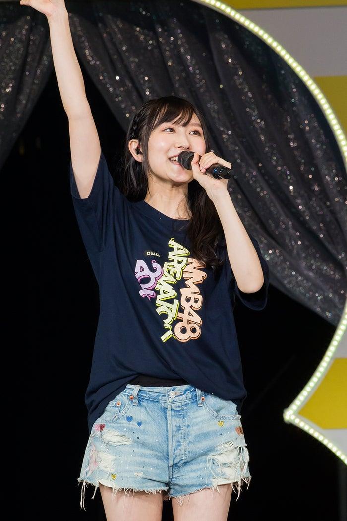 卒業を発表した矢倉楓子(C)NMB48