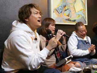 香取慎吾、カラオケで全力熱唱 新曲「Trap」レコーディング後初歌唱も