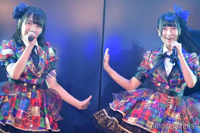田口愛佳、庄司なぎさ/AKB48柏木由紀「アイドル修業中」公演(C)モデルプレス