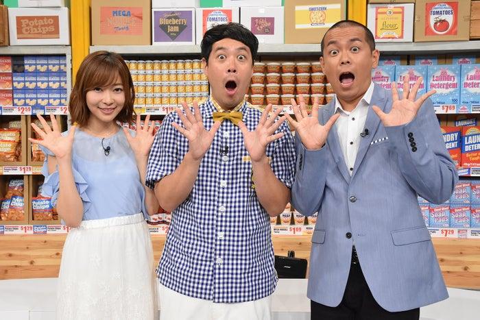 (左から)指原莉乃、タカ、トシ (C)日本テレビ
