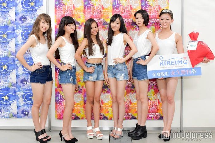 「TGA16」モデル部門受賞者/左から:木村ユリヤさん、草野星華さん、ハーヴィー瑛美さん、駒野遥香さん、西川伶那さん、王子咲希さん(C)モデルプレス