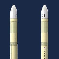 H3の機体に「JAPAN」 新主力ロケット外観を公表