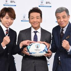 嵐・櫻井翔、スペシャルサポーター就任 上田晋也&舘ひろしと意気込む