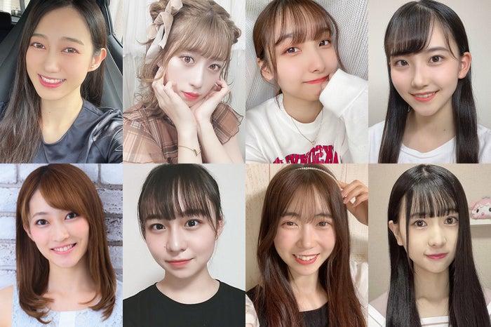 「美少女図鑑×モデルプレス~原石プロジェクト2021Autumn~」候補者の一部