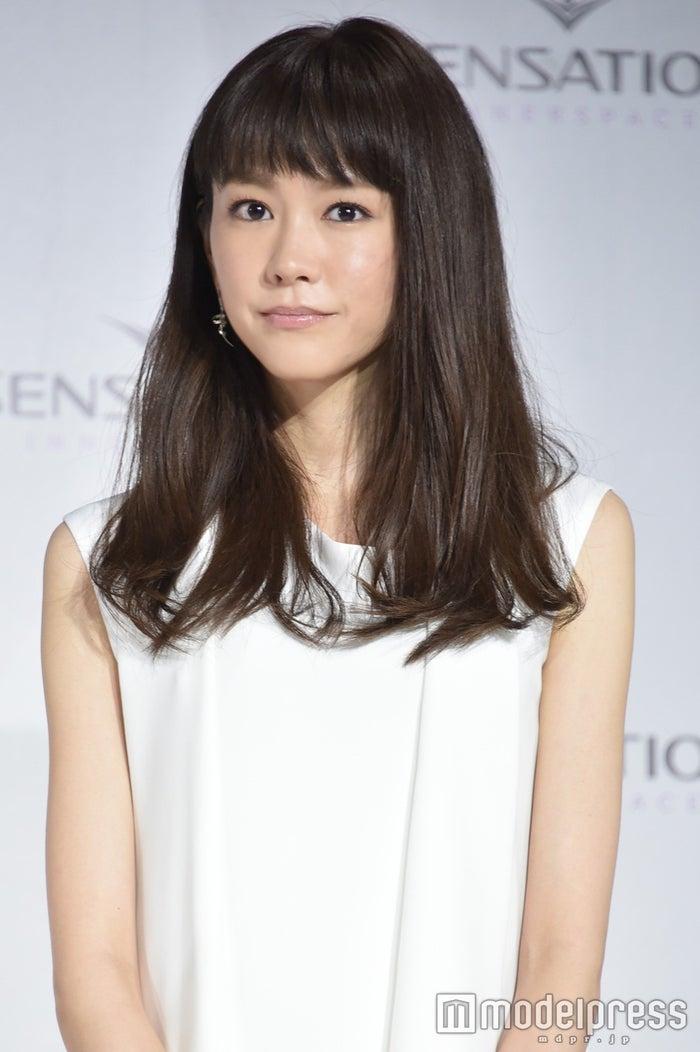 ヘアカット前の桐谷美玲(C)モデルプレス
