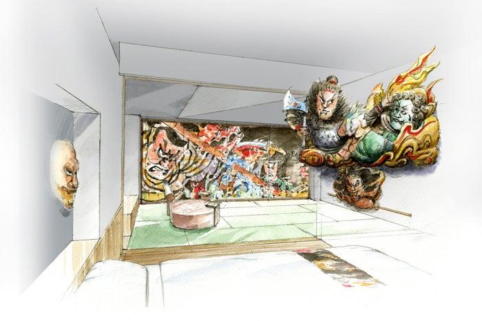 「青森ねぶたの間」主室/画像提供:星野リゾート
