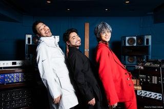 山田孝之×綾野剛×内田朝陽「THE XXXXXX(ザ・シックス)」1stアルバム配信 新ビジュアル公開