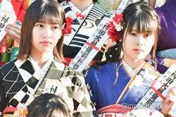 山下エミリー、吉川七瀬/AKB48グループ成人式記念撮影会 (C)モデルプレス