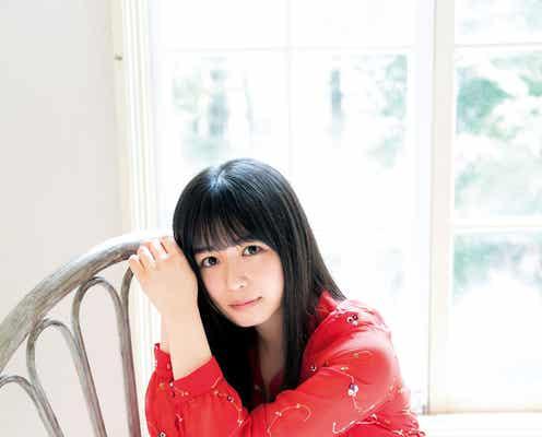 欅坂46長濱ねるの透明感にうっとり ヘルシー美脚も披露