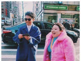 ピース綾部祐二が「誰よりもニューヨーカーだった」 渡辺直美が再会報告