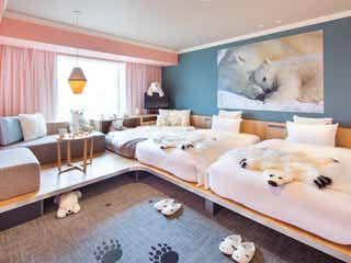 「星野リゾート OMO7旭川」に新客室シロクマルーム、細部まで癒やし力たっぷり