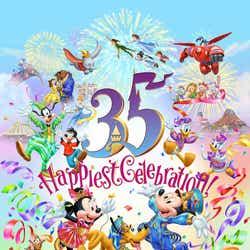 """東京ディズニーリゾート 35周年""""Happiest Celebration ! """" (C)Disney"""