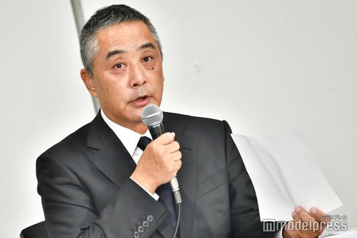 吉本興業・岡本昭彦社長 (C)モデルプレス