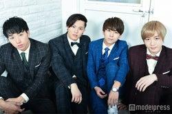 FIZZY POP(左から)山下銀次、橋本汰斗、白水萌生、内海大輔 (C)モデルプレス