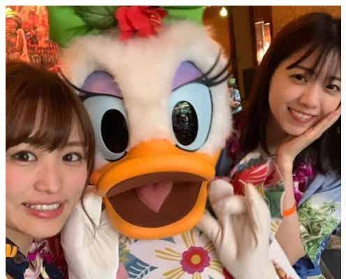 西野七瀬&伊藤かりん、ハワイディズニー満喫 プライベートショットにファン歓喜