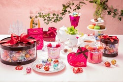 リンツ2019バレンタインチョコレート/画像提供:リンツ&シュプルングリージャパン株式会社