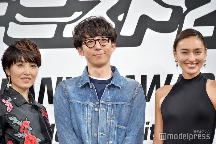 荻野目洋子、高橋一生、長谷川潤(C)モデルプレス