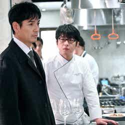 沢村一樹、及川光博/「グランメゾン東京」第9話より(C)TBS