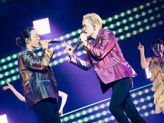 SUPER JUNIOR-D&E、ファンからのサプライズに涙「このツアーは成功だった」<SUPER JUNIOR-D&E JAPAN TOUR 2018~STYLE~ 日本武道館公演レポ>