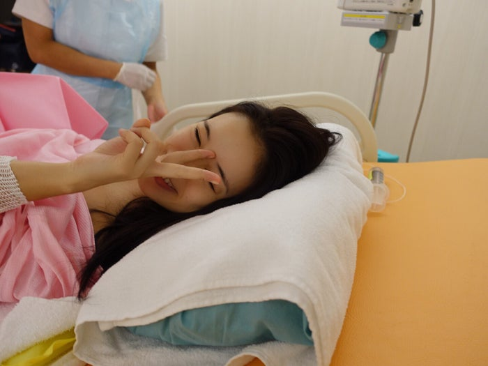 第1子を出産した尾崎紗代子/画像提供:所属事務所