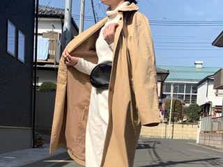 【H&M・GU】「トレンチコート」の高見え着こなし術 今の時期にピッタリ!