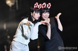 田中美久(左)&矢吹奈子のなこみくコンビ(C)モデルプレス