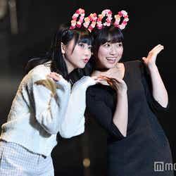 """モデルプレス - HKT48""""なこみく""""矢吹奈子&田中美久、お揃いコーデで初ランウェイ"""