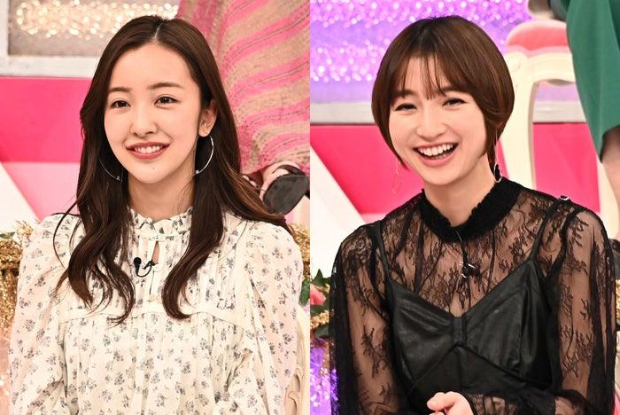 板野友美、篠田麻里子(C)TBS