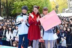 """神田うの、20年ぶりの""""三田祭""""参加に感慨 大学生の恋愛を後押し"""