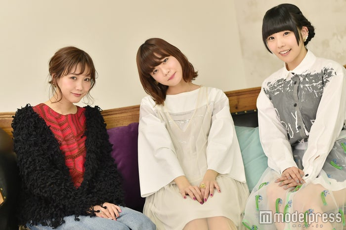 田中里奈、吉澤嘉代子、相沢梨紗(C)モデルプレス