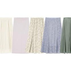 【GU】はくだけで美人度3割増し♡今買って長く使える!「春っぽスカート」5選