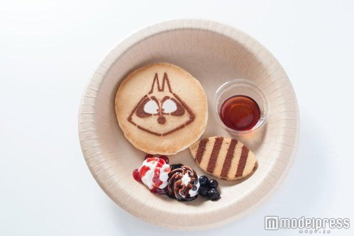 アライグマくんのパンケーキ600円(税込)(C)いがらしみきお/竹書房・フジテレビ・エイケン