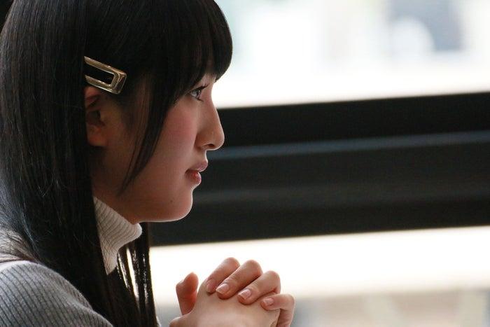 田島芽瑠/映画『尾崎支配人が泣いた夜 DOCUMENTARY of HKT48』より(C)2016「DOCUMENTARY of HKT48」製作委員会