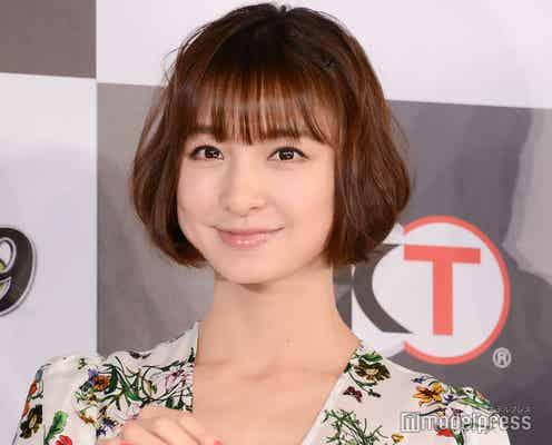 篠田麻里子、愛娘とのリンクコーデ披露に「顔小さすぎる」「オシャレ」の声
