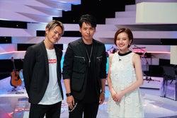 三代目JSB今市隆二、ベッキーとタッグで初MC ゲスト・山下健二郎と思い出&恋愛観語る