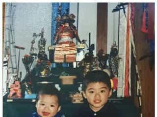 EXILE SHOKICHI、弟・八木将康の結婚を祝福 幼少時代の2ショットも公開