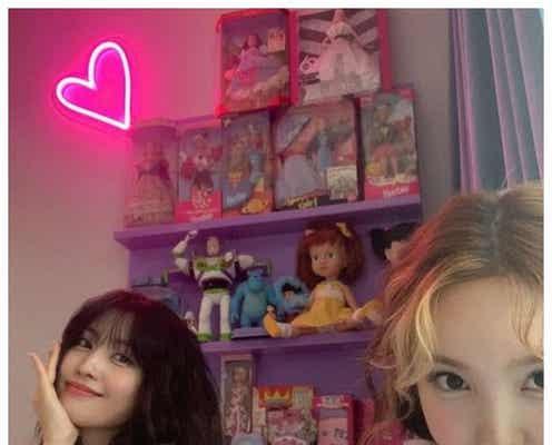 TWICEモモ&ナヨン、子供部屋ショット公開「無邪気で可愛い」と反響