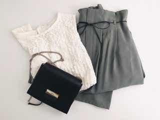 【GU】今買って秋冬たっぷり着回せる!プロおすすめの「スカート」はくすみグリーンが買い