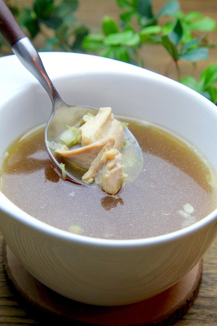 鶏のシンプル極上スープ/画像提供:Soup+